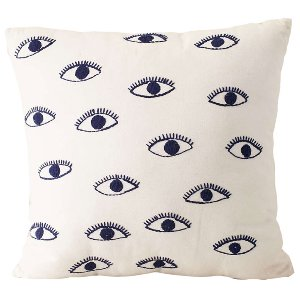 Blue Eye Pillow
