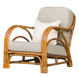 Cane Bentwood Lounge Chair