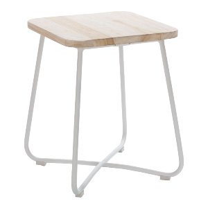 Shrub Side Table/Stool White