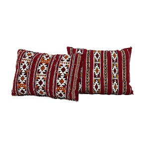 Red Moroccan Pillow