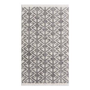 Black & White Graphic Rug