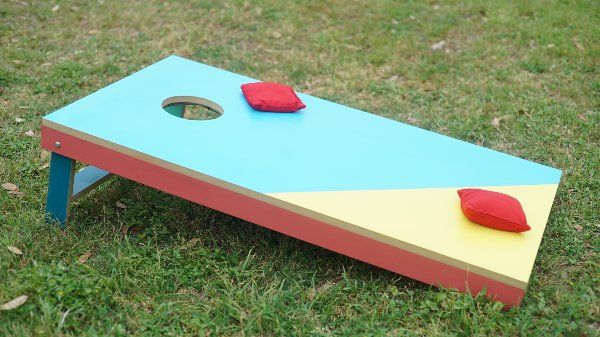 LED Corn Hole Game