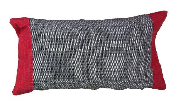 Pillow - Black & Red Lumbar