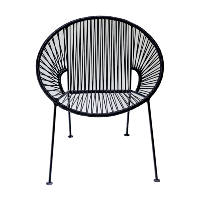 Paloma Chair Black