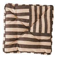 Striped Floor Cushion