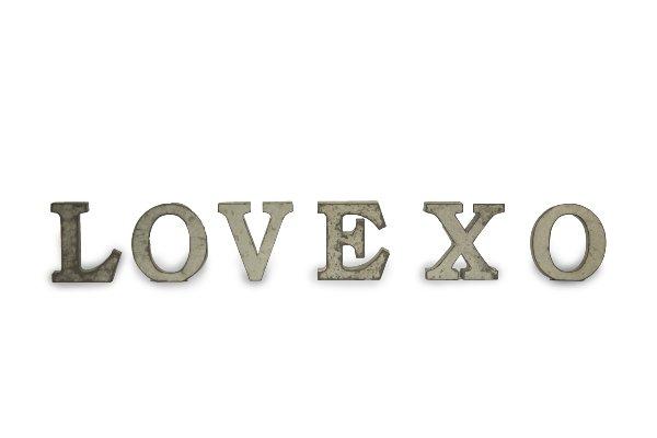 Mini Metal Letters Fair Wedding Decor Furniture And Event Services  Oshkosh Event Rental Design Ideas