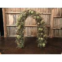 Grapevine Arch Decorated