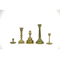Brass Candlestick Holder (Assorted)
