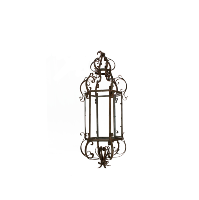 Ornate Metal Hanging Lantern