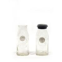 Small Glass Milk Bottle