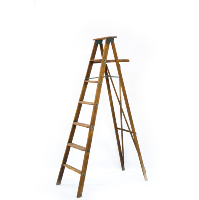 Wooden Step Ladder (6-Foot)