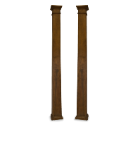 Wooden Pillars (Pair of 2)