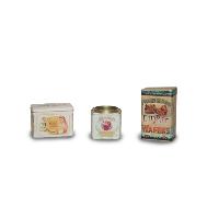 Vintage Tin Boxes (Set of 4)