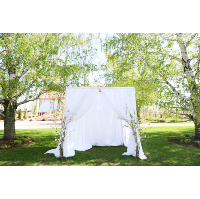 Large White Canopy Altar