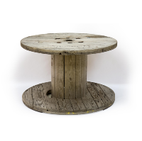 Round Spool Table (Medium)
