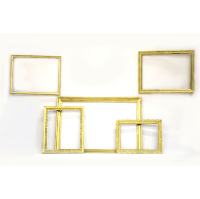 Gold Frames (Set of 5)