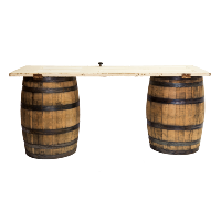 Barrel Table (White)