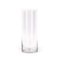 Glass Cylinder Vase (9 inch)