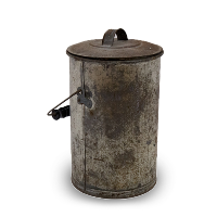 Tin Pail with Lid