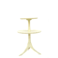 Two-Tier Pedestal Cake Stand (Large)