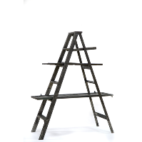 Shutter Shelf Ladder