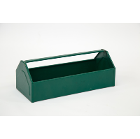 Green Metal Tool Box (Medium)