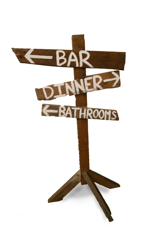 Directional Sign (Interchangeable)