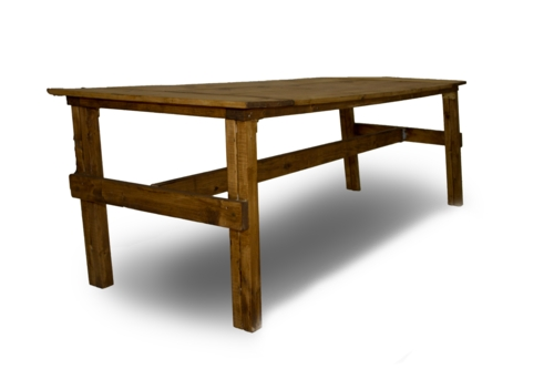 Wood Plank Table