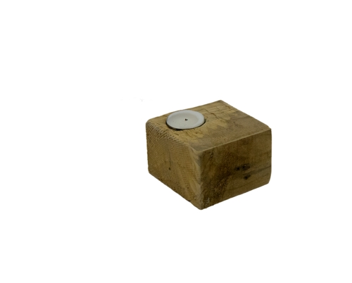 Wooden Tealight Holders (Set of 10)