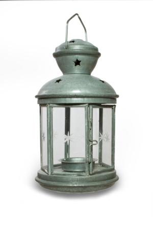 Tin Star Lantern