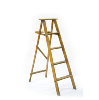 Wooden Step Ladder (4.5-Foot)