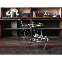 Golden Bar Cart