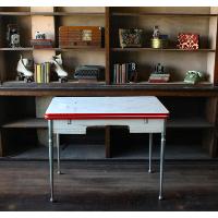White Enamel Table
