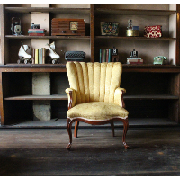 Canary Wingback Chair