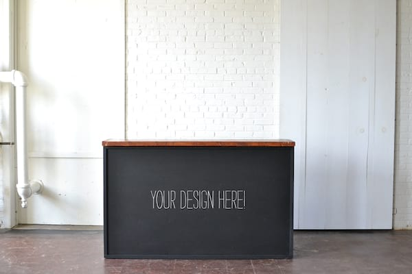 Homestead Chalkboard Bar