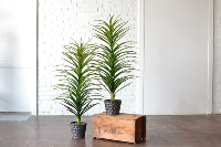 Faux Potted Plant with Planter