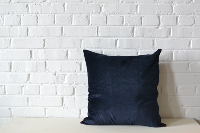 Pillow - Blue Velvet Square