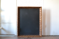 Oversized Frame with Chalkboard