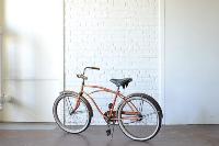 Orange Vintage Bike