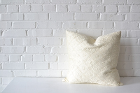 Pillow - Oversize White Square