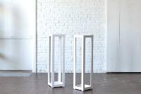 Modern White Column