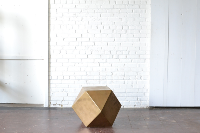 Geometric End Table