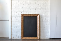 Frame #G8 with Chalkboard