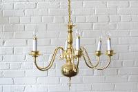 Brass Chandelier #1