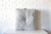 Light Gray Floor Cushion
