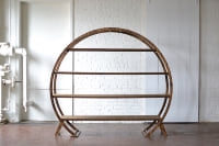 Round Arbor with Shelves