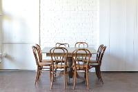Marshall Dining Table & Bentwood Chairs