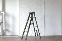 6' Green Wooden Ladder