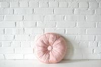 Pillow - Pink Button