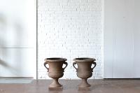 Handled Pedestal Urn